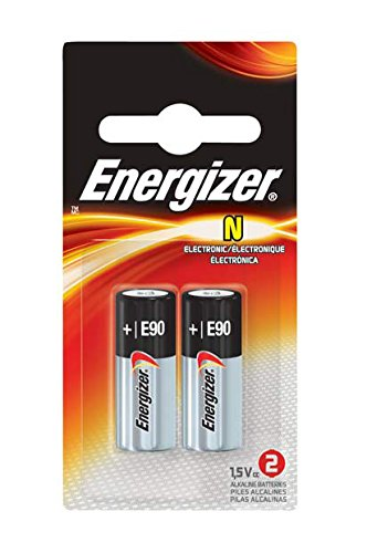 Energizer batteries N Size 2 Count