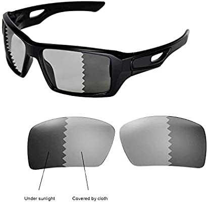 cac8287233a02 Walleva Replacement Lenses for Oakley Eyepatch 2 Sunglasses -Multiple  Options (Transition photochromic - Polarized)  Amazon.ca  Sports   Outdoors