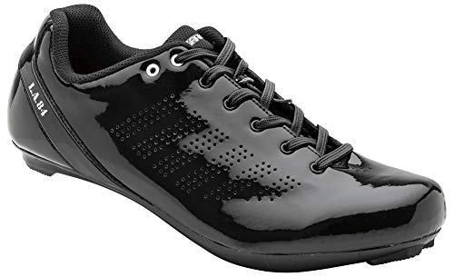 Louis Garneau Men's L.A. 84 Bike Shoes, Black, US (12), EU (47)
