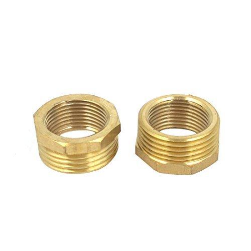 dealmux-34bsp-x-12bsp-fm-thread-brass-hex-reducing-bushing-fitting-2pcs