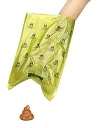 Pogi's Poop Bags - 30 Rolls (450 Bags) - Large, Earth-Friendly, Scented, Leak-Proof Pet Waste Bags
