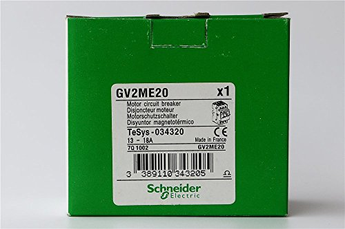 TELEMECANIQUE GV2ME20 MOTOR CIRCUIT BREAKER (Telemecanique Circuit Breaker)