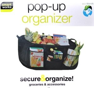 Pop Up Organizer Smart Works Eco Friendly Smarter Living Color Black