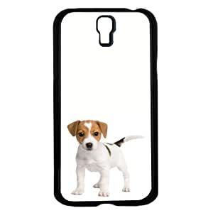 Cute Puppy on White Background Hard Snap on Phone Case (Galaxy s4 IV) by icecream design