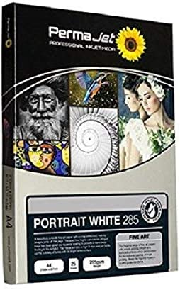 Permajet 22213 Portrait White Druckerpapier 285 G M A4 25 Blatt Weiß Bürobedarf Schreibwaren