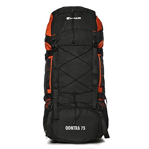 Impulse Waterproof Travelling Trekking Hiking Camping Bag Backpack Series 75 litres Orange Qontra Rucksack Price & Reviews