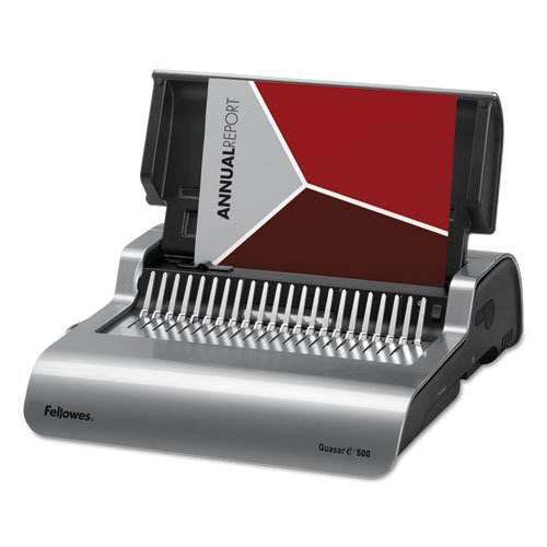 Fellowes FEL5216901 Quasar E 500 Electric Comb Binding Machine