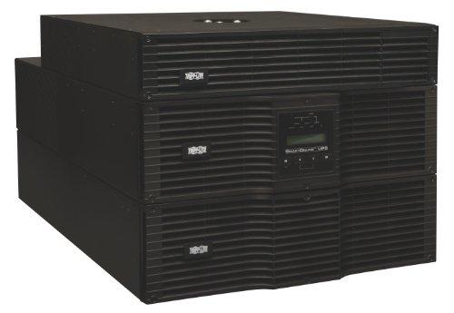 Tripp Lite SU8000RT3U1TF 8000VA 7200W UPS Smart Online Rackmount 8kVA PDU 120V/208V 8URM, 18 Outlets 208v 120v Step