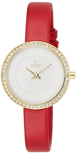 OBAKU watch two stitches V146LEGIRR Ladies