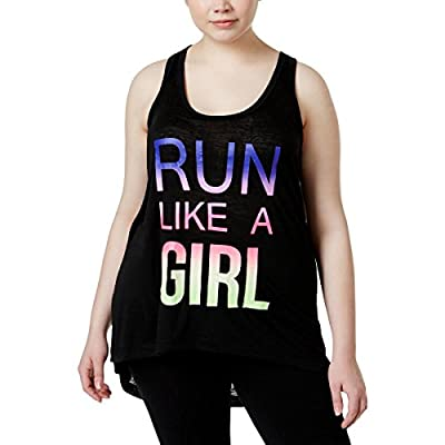 Ideology Plus Size Mommy & Me Graphic Tank Top