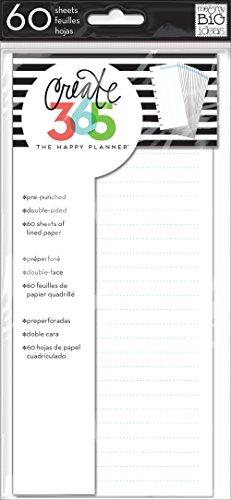 me & my BIG ideas Half Sheet Planner, Blue