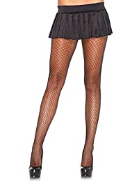 Leg Avenue Women's Plaid Net Pantyhose