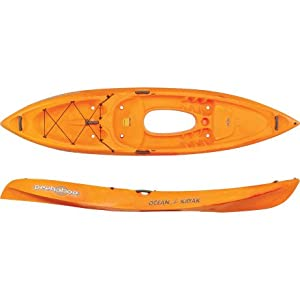 07.6350.1020 Ocean Kayak 11-Feet x 11-Inch Peekaboo Classic Sit-On-Top Recreational Kayak with Window, Sunrise by Johnson Outdoors Watercraft