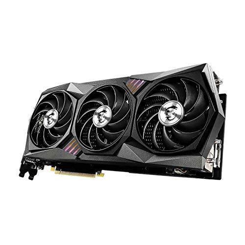 MSI GeForce RTX 3080 Gaming X Trio Graphics Card, 10GB GDDR6X, Ray Tracing, VR Ready, Tri Frozr 2 Thermal Design, 3X DisplayPort, 1x HDMI 2.1 8K, Battlefield V