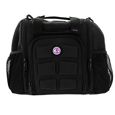 6 Pack Fitness Bag Mini Innovator Black/Neon Purple