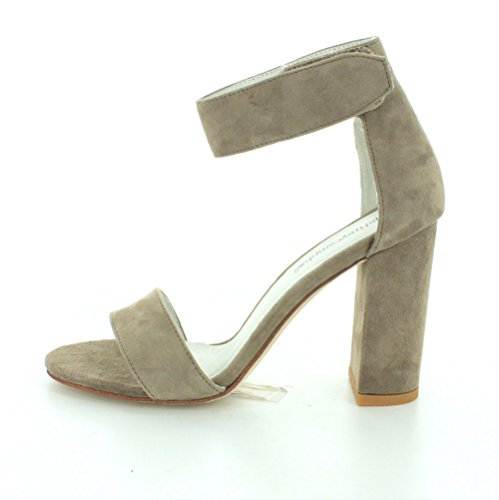 Lindsay Jeffrey Sandals Campbell Taupe Women's wTqEw6r