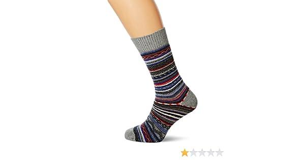 Cortefiel, Calcetin Lana Grecas - Calcetines para hombre, color dark grey, talla U: Amazon.es: Ropa y accesorios