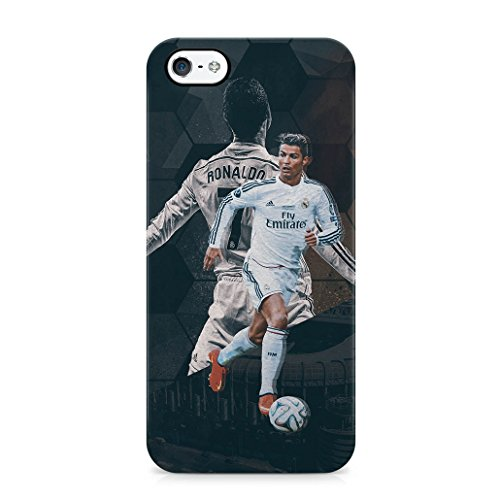 Christiano Ronaldo Running Ronaldo Hard Plastic Snap Case Cover For iPhone 5 / iPhone 5s / iPhone SE Custodia