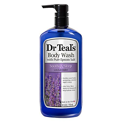 Dr Teal s Pure Epsom Salt Body Wash Soother Moisturize With Lavender 24 oz Pack of 3