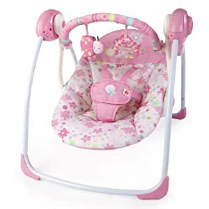 Bright Starts Portable Swing, Blossomy Blooms (Discontinued by Manufacturer)