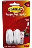 Command Small Designer Hooks, 2-Hook