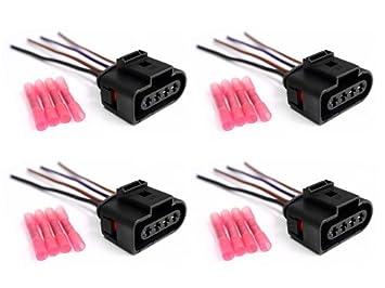 410bnrGC0jL._SX355_ amazon com x4 audi vw ignition coil wiring harness connector ignition coil wiring harness repair kit at honlapkeszites.co