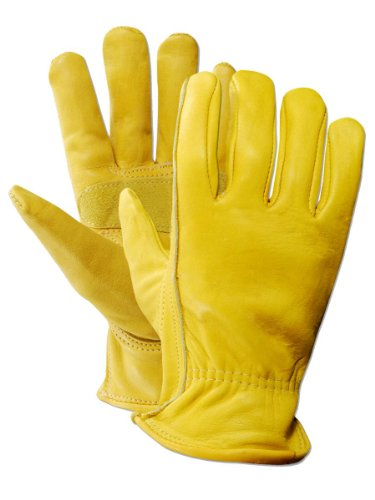 Magid TB561ET-S Women's Pro Grade Collection Premium Grain Cowhide Leather Driver Gloves by Magid Glove & Safety