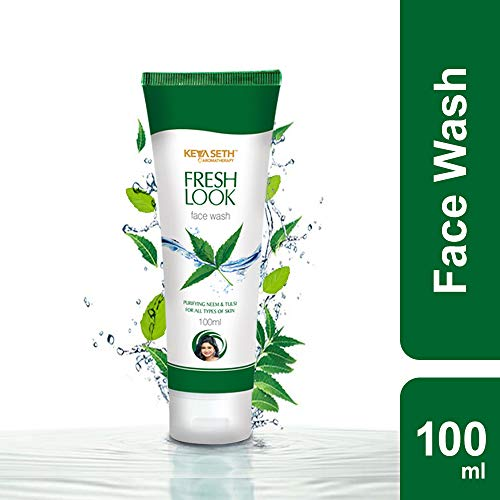 KEYA SETH AROMATHERAPY, DEVICE OF DROP Fresh Look Face Wash with Purifying Neem and Tulsi, 100 ml