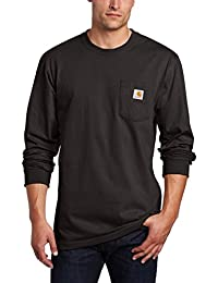 Carhartt Men's Workwear Midweight Jersey Pocket...