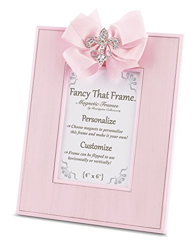 Bearington Fancy That Frame, Pink Striated Photo Frame 4
