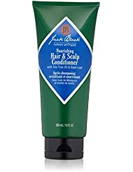 JACK BLACK – Nourishing Hair and Scalp Conditioner – PureScience Formula, Deeply Moisturizing, Leaves Hair and Scalp Healthy and Hydrated, Proteins and Vitamins Included, 10 oz.