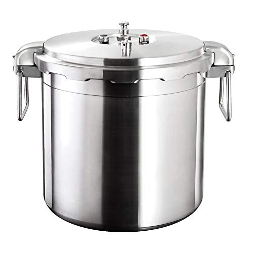 Buffalo QCP430 32-Quart Stainless Steel Pressure Cooker [Commercial series]