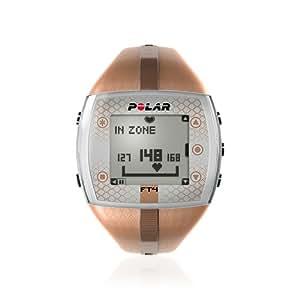 Polar FT4 Heart Rate Monitor Watch (Bronze/Bronze)