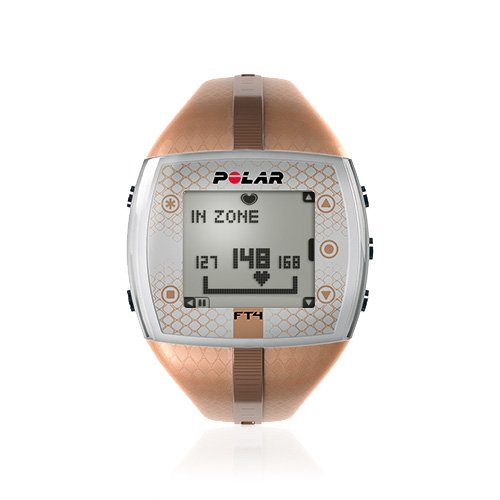 Polar FT4 Heart Rate Monitor Watch (Bronze/Bronze)