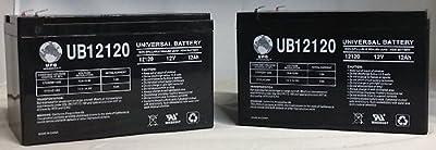 12V 12Ah NEW Rascal AutoGo 550 Scooter Battery - 2 Pack