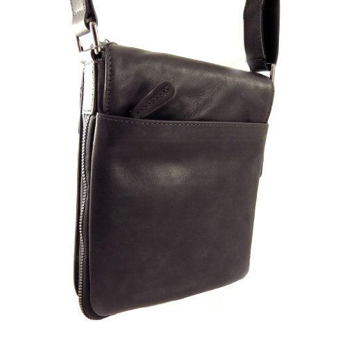 William'vintage In 'david Pelle Borsa Nero tf8aBw
