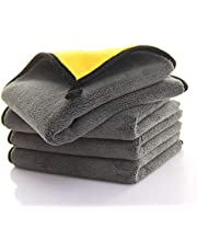 """Microfiber Towel 2 Pack, Super Absorbent Drying Microfiber Cleaning Cloth for Car, House, Kitchen, Window (11.8""""x23.6"""")"""