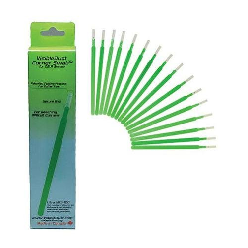 VisibleDust 3098684 Corner Swabs for Cleaning Hard To Reach Corners DSLR Sensors
