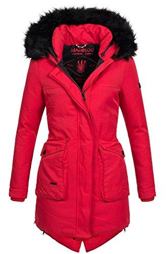 best website c018a 22c9c Marikoo Winter Parka Damen Jacke Winterjacke Mantel Warm ...