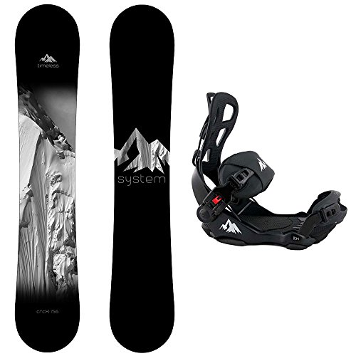 Package-System Timeless Snowboard 158 cm Wide-System LTX Binding (158cm Snowboard)
