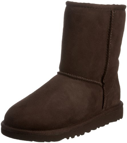 UGG Unisex Classic Short Pull on Boot (Toddler/Little Kid), Chocolate, 6 M US (Tall Chocolate Ugg Boots)