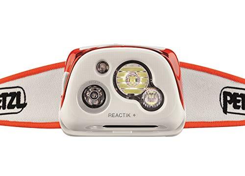 Petzl - REACTIK+ Headlamp, 300 Lumens, Bluetooth Enabled, Orange by PETZL (Image #2)
