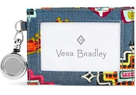 Vera Bradley Retractable Lanyard ID Case (Painted Medallions)