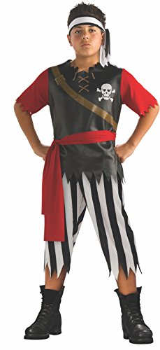 Rubies Halloween Concepts Children's Costumes Pirate King - Large - Halloween Costumes Red Pants