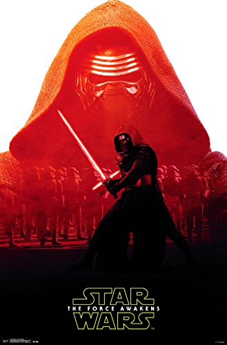 Trends International Star Wars: The Force Awakens Kylo Ren Badge Wall Poster 22.375