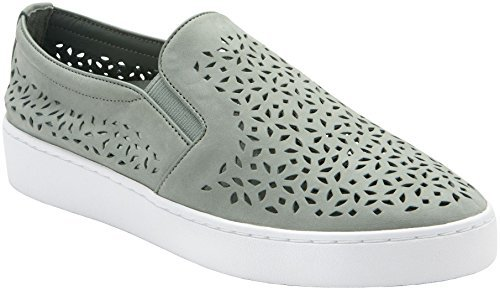 Vionic Women's Midi Perf Slip-On Sneaker, Mint, Size 7.5