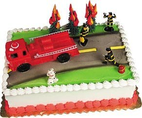 Cake Decorating Kit CupCake Decorating Kit (Fire Truck)
