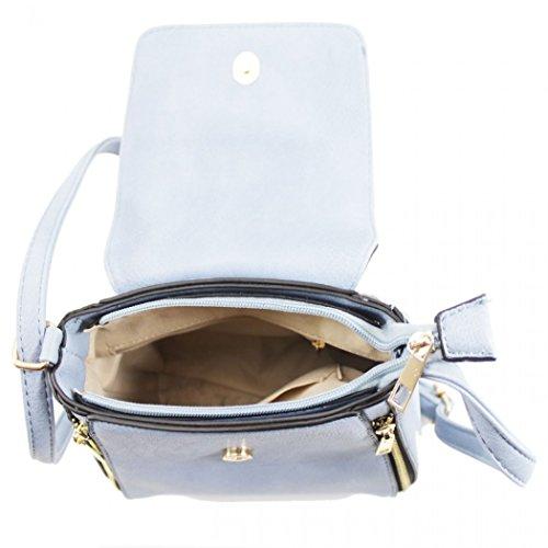 BODY Women's Fold Messenger PINK Tassel Handbag LeahWard CROSS Tassel With Over Cross Bag Body O4xnwndF0