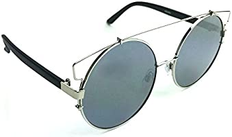 Ladies Two Tone Lens And Frame Cat Eyes Sunglasses 200