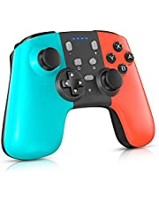 Controller for Switch, Pro Controller for Nintendo Switch/Switch Lite, Pro Controller Gampad with Gravity Sensor and Adjustable Turbo Dual Shock Gyro Axi